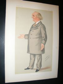 Vanity Fair Print 1879 William Cunliffe Brooks